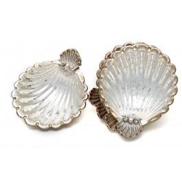 Muschelschalen aus 925er Sterling Silber