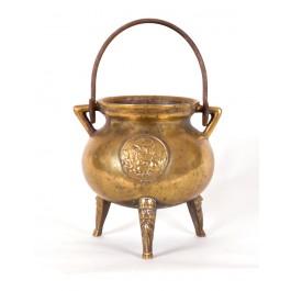 Bronze Topf