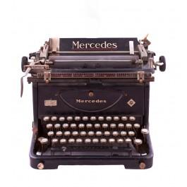 Schreibmaschine der Marke Mercedes