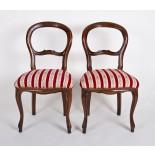 2 Stühle im Biedermeier-Stil *
