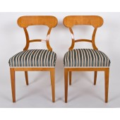 Stuhl im Biedermeier-Stil