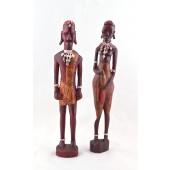akrikanische Holzskulpuren